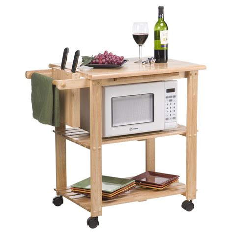 kitchen island microwave cart the stetson microwave cart kitchen islands and carts at