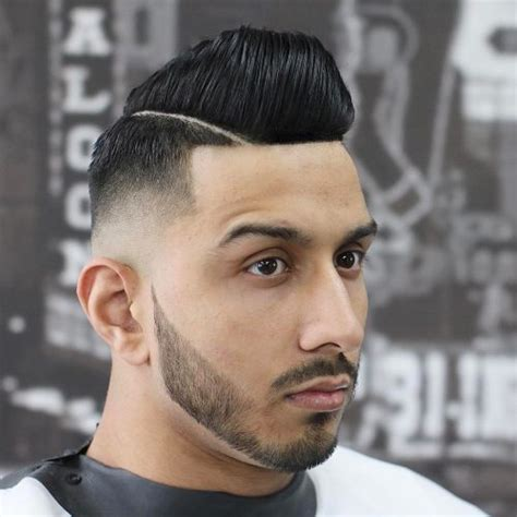 latino mens wetlook pompador hairstyles 27 top pompadour haircuts for men 2018 trends