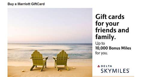 Use Skymiles For Gift Cards - marriott gift cards 5 cashback or 2 delta skymiles per dollar loaded loyaltylobby