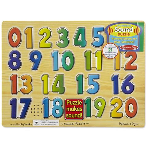 Mainan Angka Hape Number Puzzle numbers sound puzzle learning educational toys planet