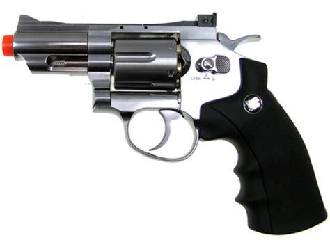 Airsoft Gun Revolver 708 chrome wingun 708 airsoft revolver wg co2 gun 2 quot snub nose