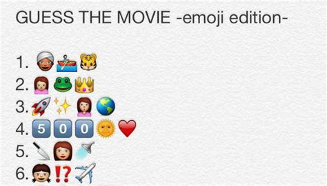 Guess The Emoji Film And Girl | emoji edition