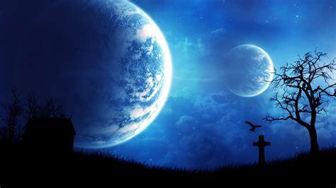 imagenes hd luna luna fantasmal fondos hd