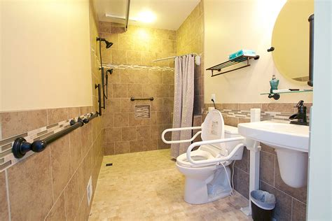 wheelchair accessible bathroom handicap bathroom remodel culpeper va ramcom kitchen bath