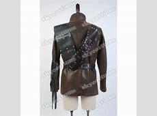 Arrow Dark Archer Coat Cosplay Costume- Skycostume Green Arrow Dark Archer