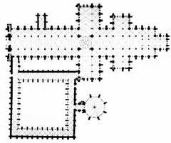 Salisbury Cathedral Floor Plan by Salisbury Cathedral Plan