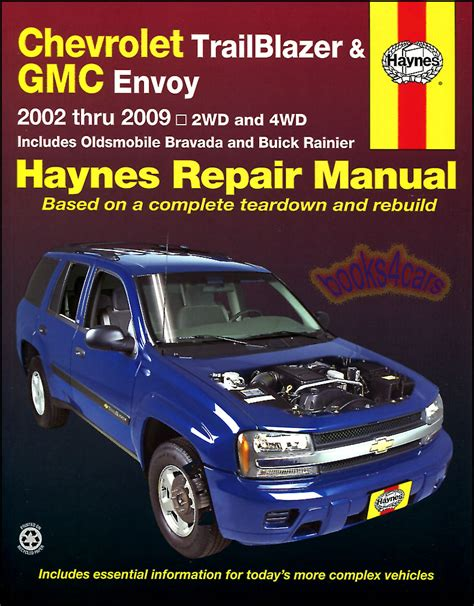 car engine repair manual 2002 gmc envoy xl seat position control gmc envoy shop manual repair book xl haynes service gm ebay