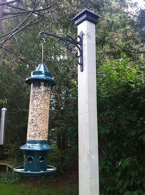 a quick and easy bird feeder stand garden ideas pinterest