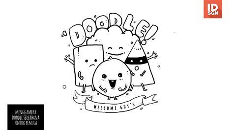 doodle ekspresi tutorial menggambar doodle sederhana untuk pemula