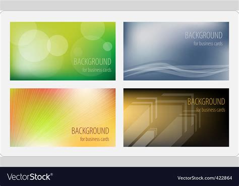 Royalty Free Business Card Templates by Business Cards Template Royalty Free Vector Image