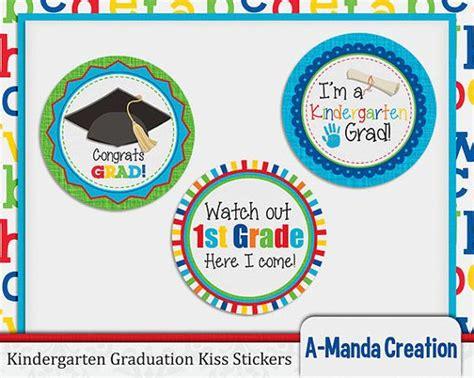 printable graduation stickers 2015 kindergarten graduation printable kiss stickers