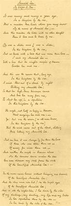annabel by edgar allan poe mute the silence