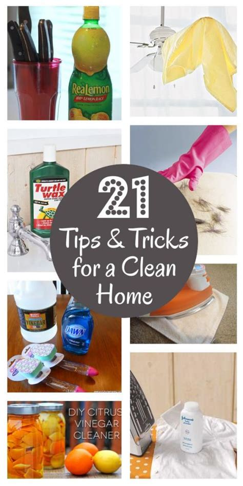 home tips and tricks 21 must know cleaning tips and tricks the home touches
