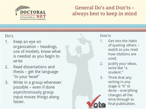 dissertation and thesis doctoral dissertation and thesis help writing dos and don ts