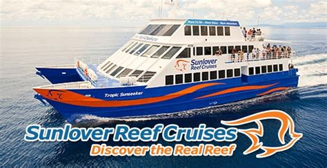 sunlovers books sunlover reef cruise day great barrier reef tour cairns