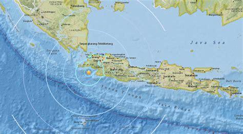 Earthquake Tangerang | indonesia earthquake map magnitude 6 quake hits jakarta