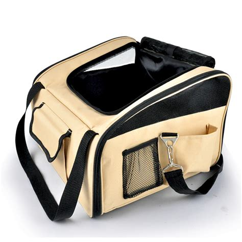 Foldable Travel Booster Bag portable foldable pet carrier cat car booster seat