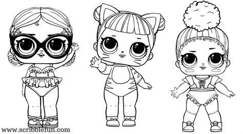 White Coloring Pages Lol Surprise Pictures To Pin On