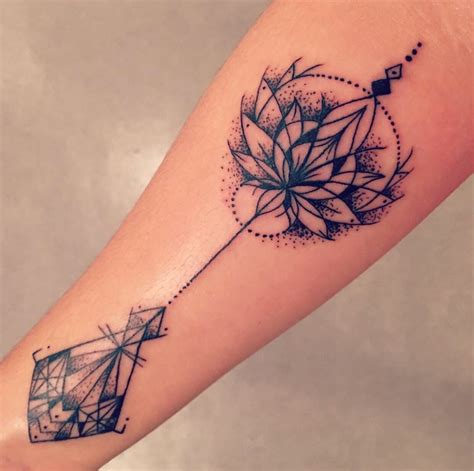 geometric lotus tattoo 107 top geometric tattoos ideas media