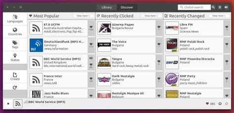 quickly tutorial ubuntu application how to install gtk3 internet radio app gradio in ubuntu