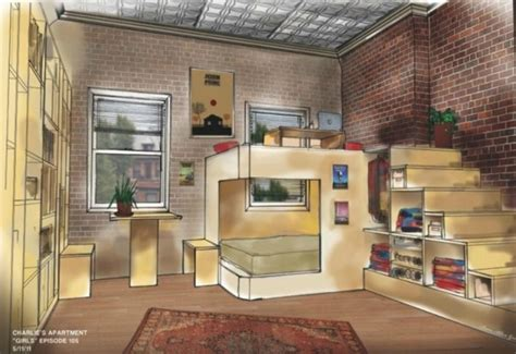 Tiny Apartment Design Idea: Charlie?s Studio   AllDayChic