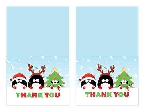Do You Send Thank You Cards For Christmas Gifts - printable christmas thank you cards 3 designs to choose from