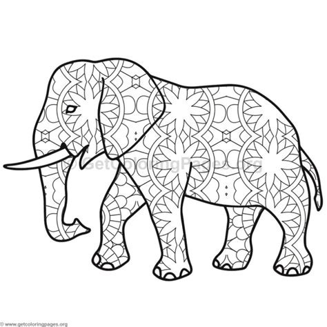 Elephant Coloring Pages 8 Getcoloringpages Org Photo Coloring Page