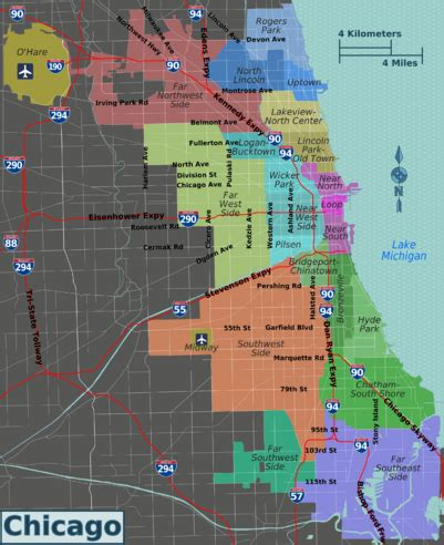 chicago parking zone map chicago illinois the wiki