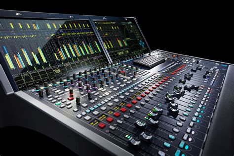 Audio Console image gallery mixing console