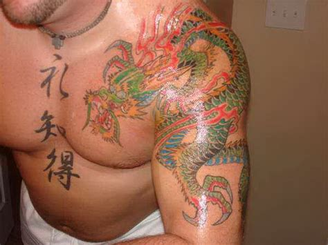 156 best dragon tattoo ideas designs and meanings kanji japanese 5440961