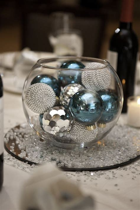Glass Bowl With Ornaments Centerpiece My Wedding Glass Bowl Centerpiece Ideas