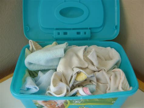reusable baby wipes diy using cloth wipes as part of your cloth routine