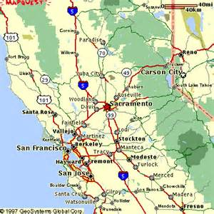 maps sacramento california