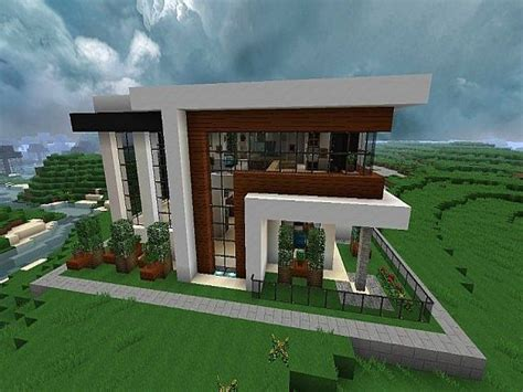 modern homes minecraft modern house modern minecraft house blueprints