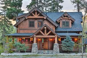 Timber Frame House Plans by Timber Frame Home Plans The Big Chief Mountain Lodge