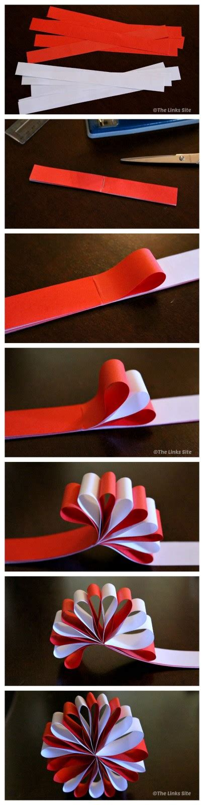 Make Your Own Paper Decorations - beautiful paper decorations the links site