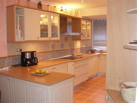Kitchen Color Ideas With Oak Cabinets by Cocina Madera 1 Tablas Maderas Y Decoraci 243 N En Majadahonda