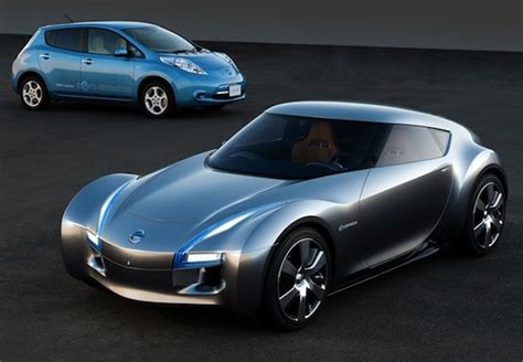 nissan small sports car nissan to build rear wheel drive electric powered sports