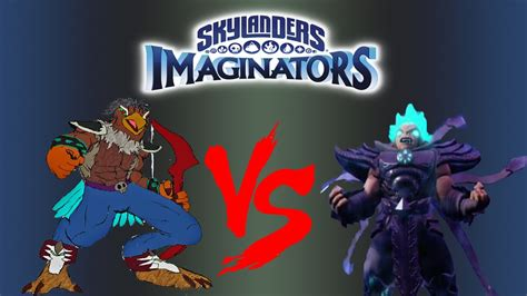 Kaos Lol skylanders imaginators flare dartroc vs kaos