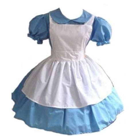 Alice in wonderland costume dress and apron thisnext