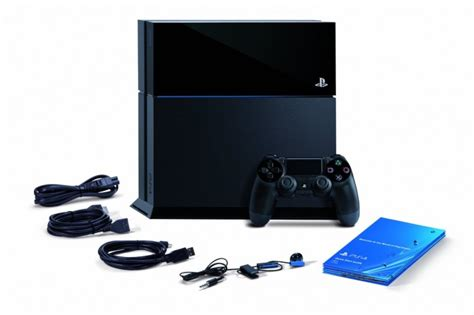 ps4 accessories image shows ps4 accessories that will be bundled at launch