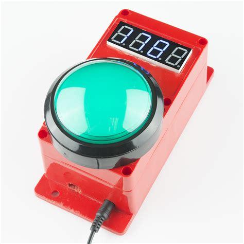 light board reaction timer reaction timer learn sparkfun com