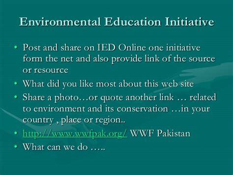 themes of environmental education definition and scope of environmental education