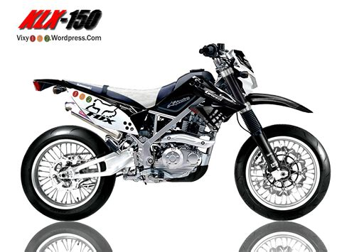 Klx Supermoto by Design Modifikasi Klx Supermoto Vixy182 S