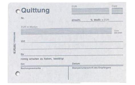 Quittungsvorlage Schweiz Quittungsblock Doccheck Shop