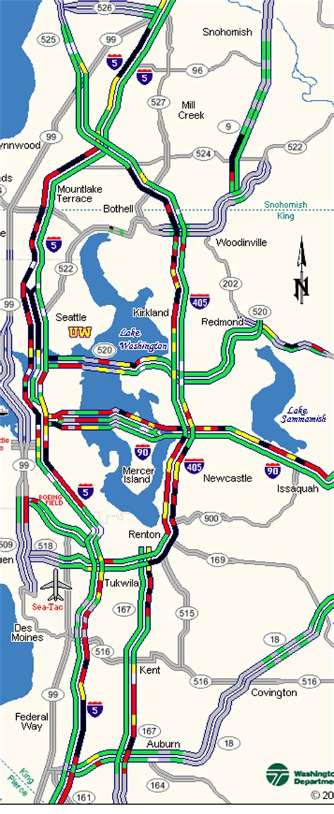 seattle map traffic tuesday s commute why is it so bad the today file