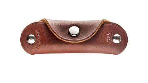 Handmade Leather Key Holder - kaufmann mercantile leather key holder protects