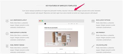 key features of the layout of a letter simplexdesign free blogger template simplexcreative