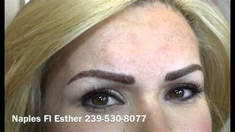 eyebrows microblading or 3d youtube