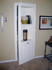 Locking Bathroom Cabinet - secret closet behind bookcase door stashvault